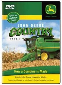 John Deere Country, Part 1 How a Combine is Made DVD NEW Harvester ...