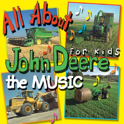 All About John Deere The Music CD