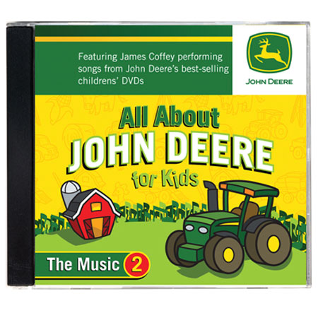 All About John Deere, The Music 2 CD - TMBJDCD2