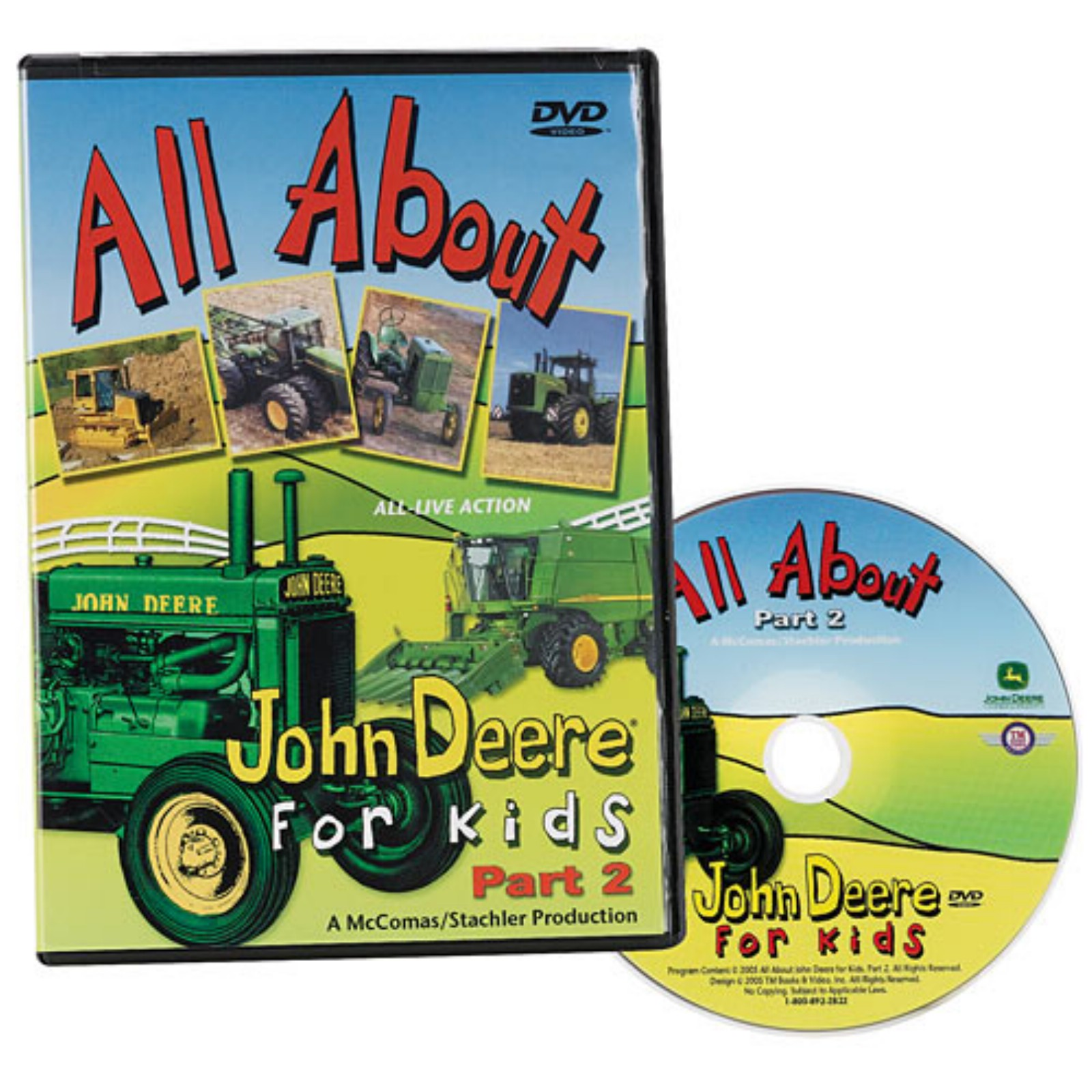 DVD: All About John Deere for Kids, Part 2 | BirthdayExpress.com