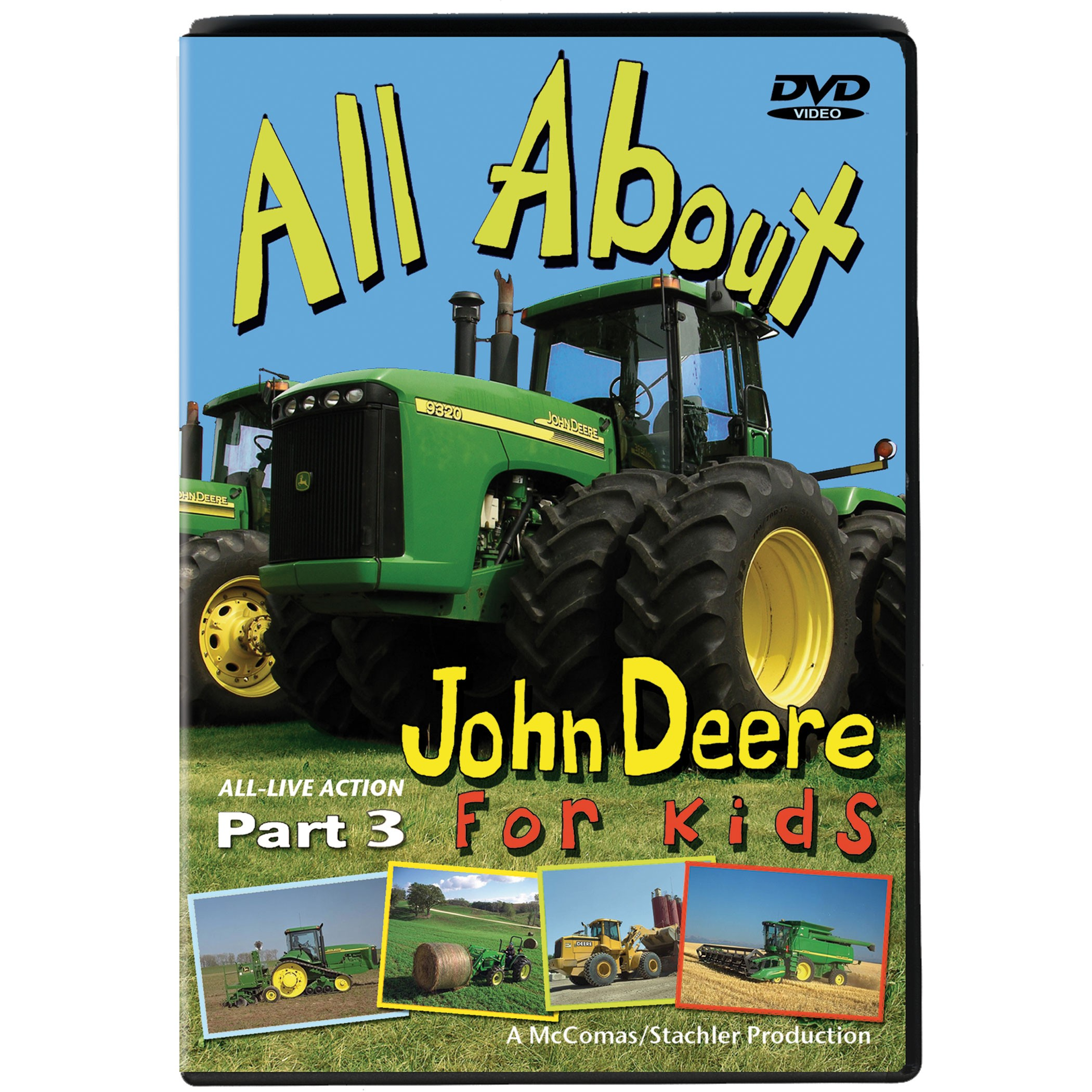 John Deere action and fun continues on All About John Deere DVD ...