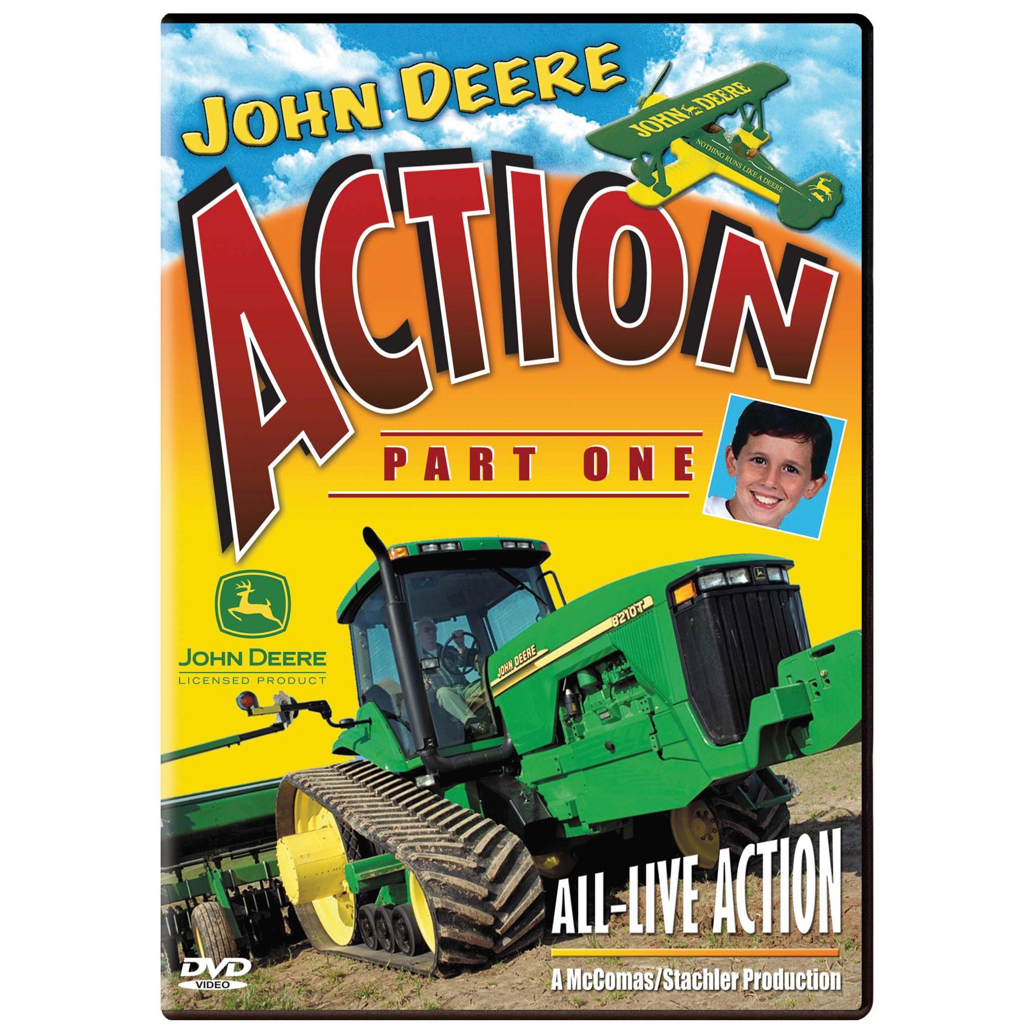 John Deere Action Part 1 DVD   QC Supply
