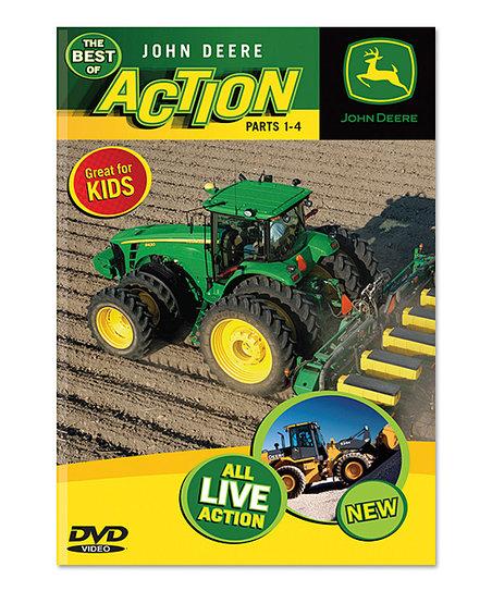 The Best of John Deere Action, Parts 1-4 DVD