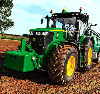 John Deere's new 7310R with e23 transmission, the brand's first ...