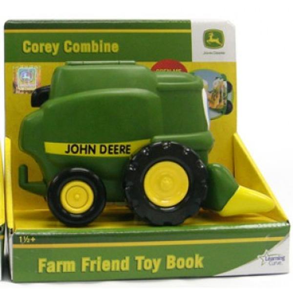 John Deere Toys - Corey Combine Farm Toybook at ToyStop