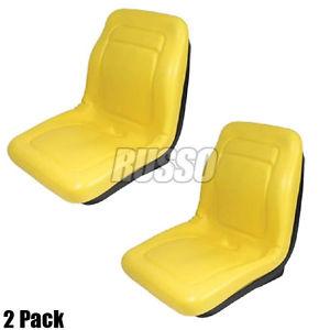 2-Pack-John-Deere-OEM-Original-Spec-Gator-Seat-Yellow-High ...