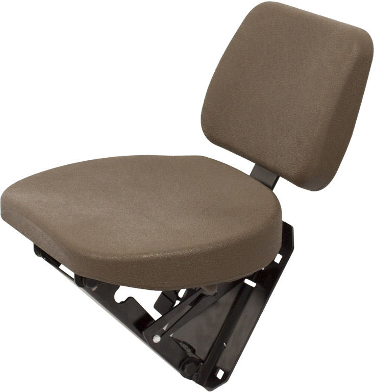 AL173569 Buddy Seat Brown for John Deere 6105M 6115M 6125M ...