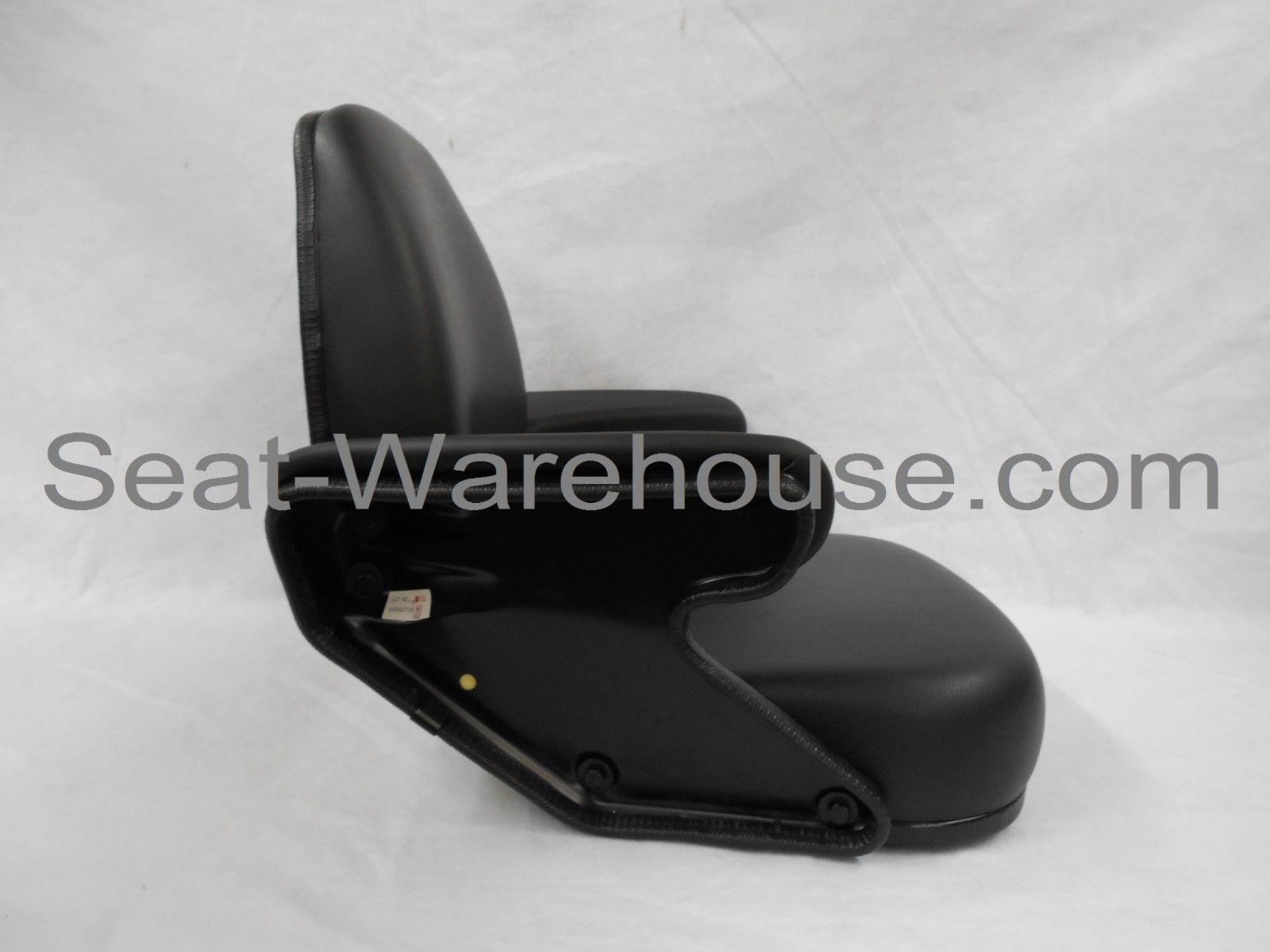 BLACK SEAT ASSEMBLY JOHN DEERE BACKHOE 210C,310C,315C,410C ...