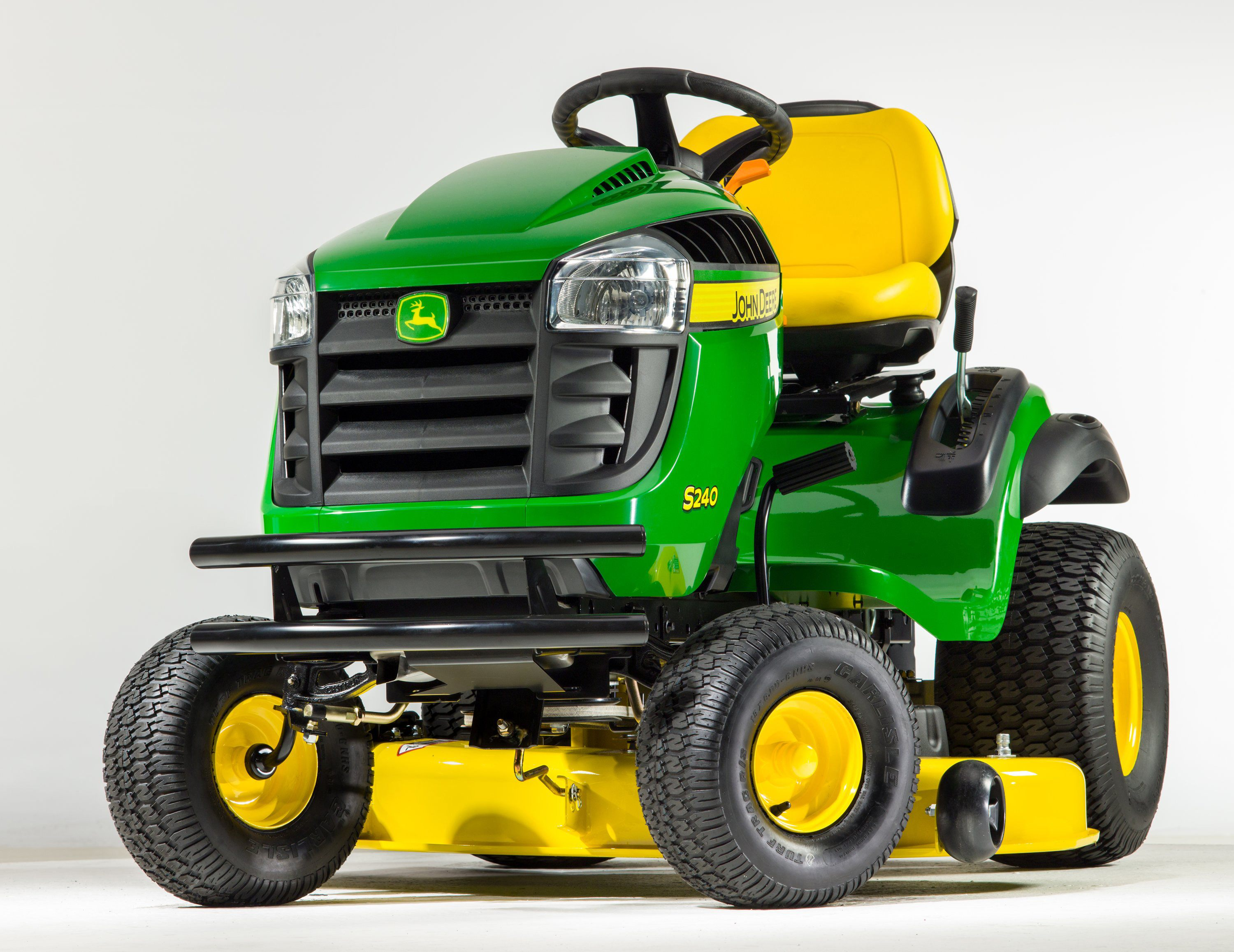 john deere x350 vs s240 lawn mower comparison