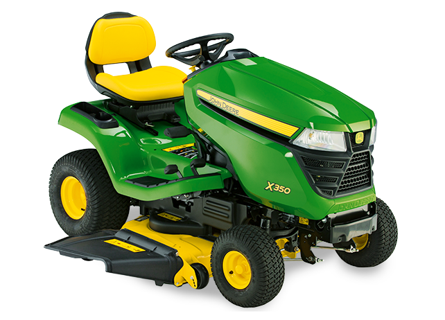 john deere x350 vs x300 lawn tractor comparison