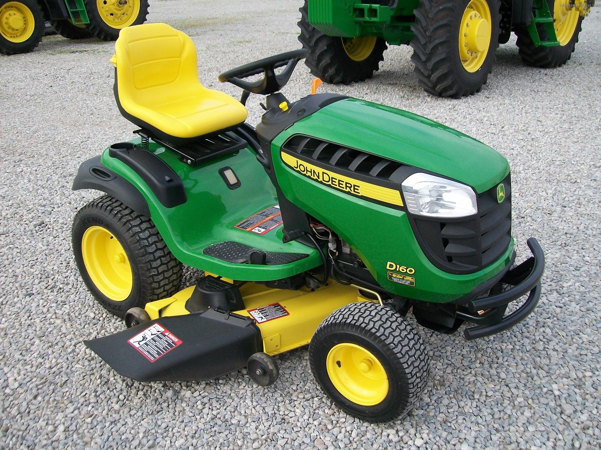 john deere x330 vs d160 lawn tractor comparison