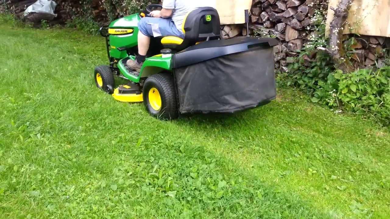 john deere x155r vs x305r lawn tractor comparison
