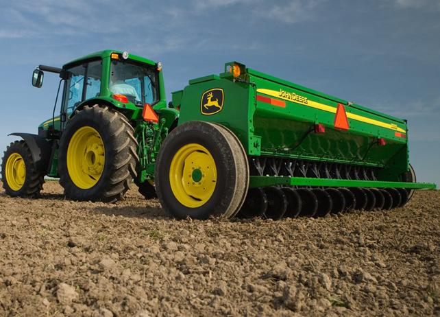 John Deere BD11 Series End-Wheel Grain Drills Conventional-Till Drill ...