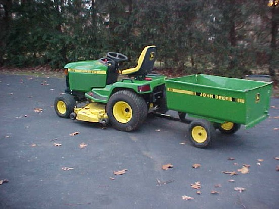 John Deere 455 Review by DAVE - TractorByNet.com