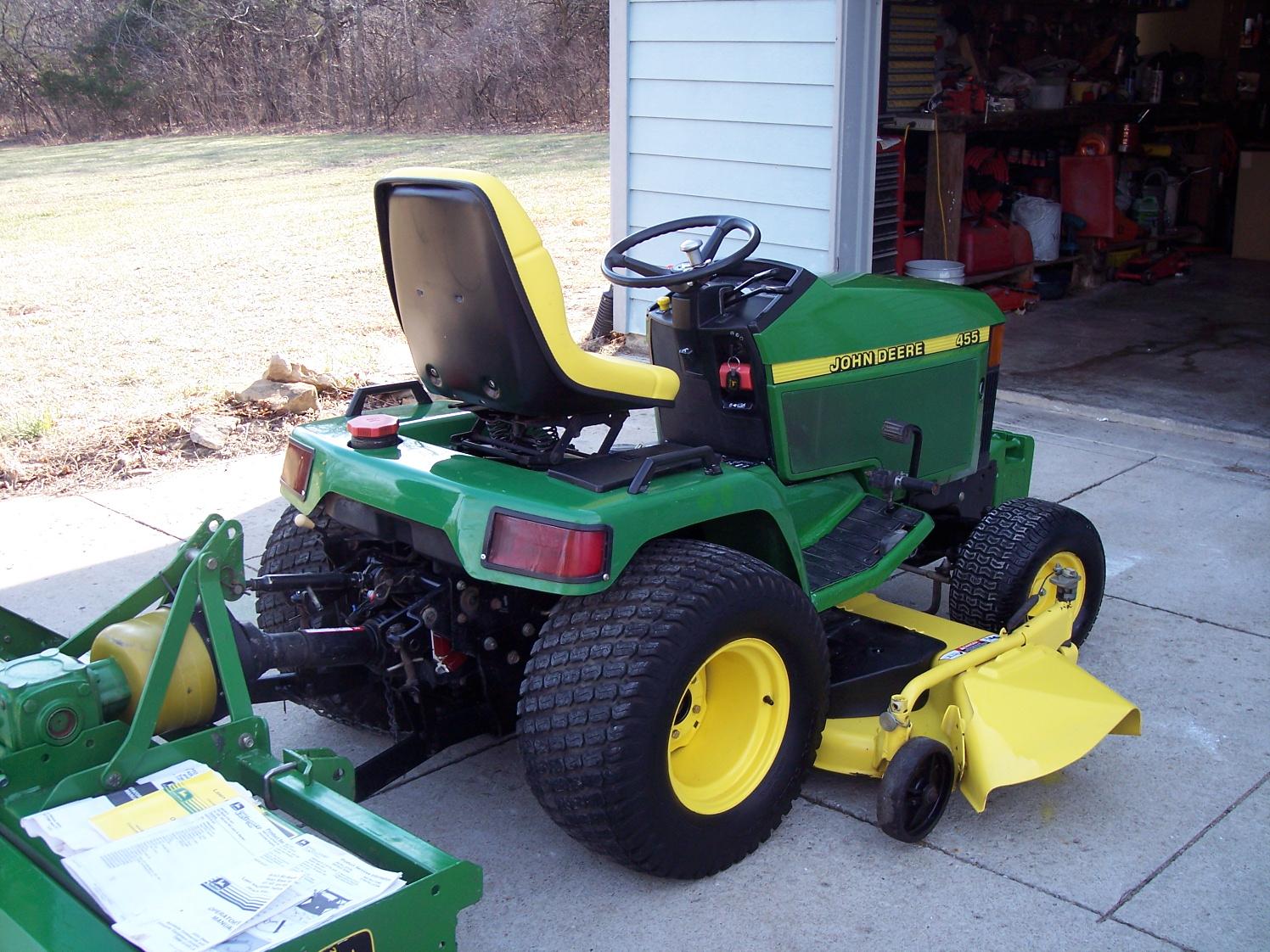 Tiller Attachment For John Deere Riding Lawn Mower : Lawn ...