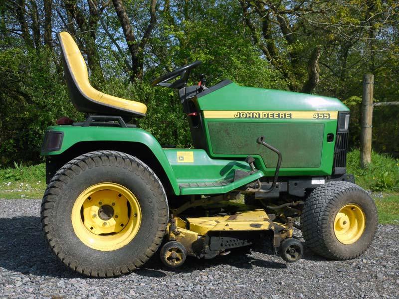 John Deere 455 Garden Tractor   Car Interior Design