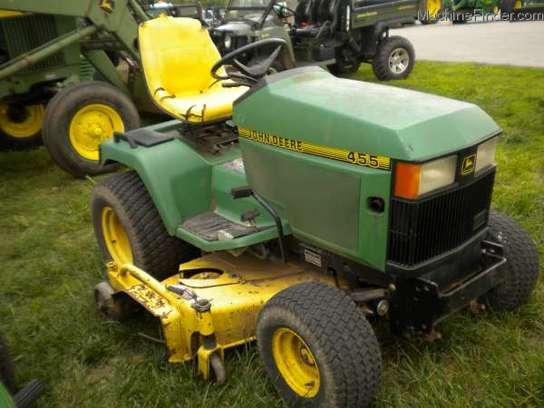 1995 John Deere 455 Lawn & Garden and Commercial Mowing ...