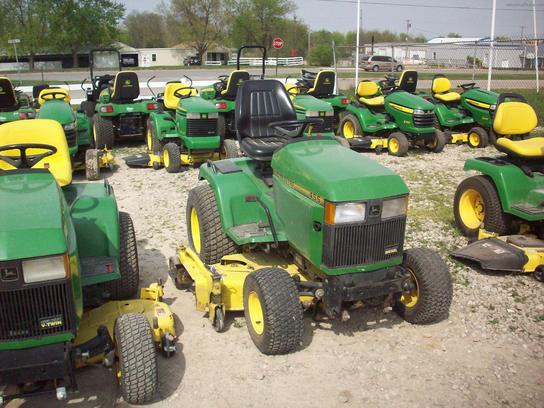 John Deere 455 Lawn & Garden and Commercial Mowing - John ...