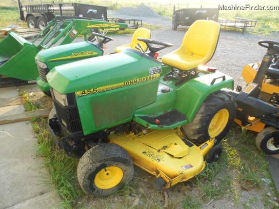 John Deere 455 60 DECK DIESEL Lawn & Garden and Commercial ...