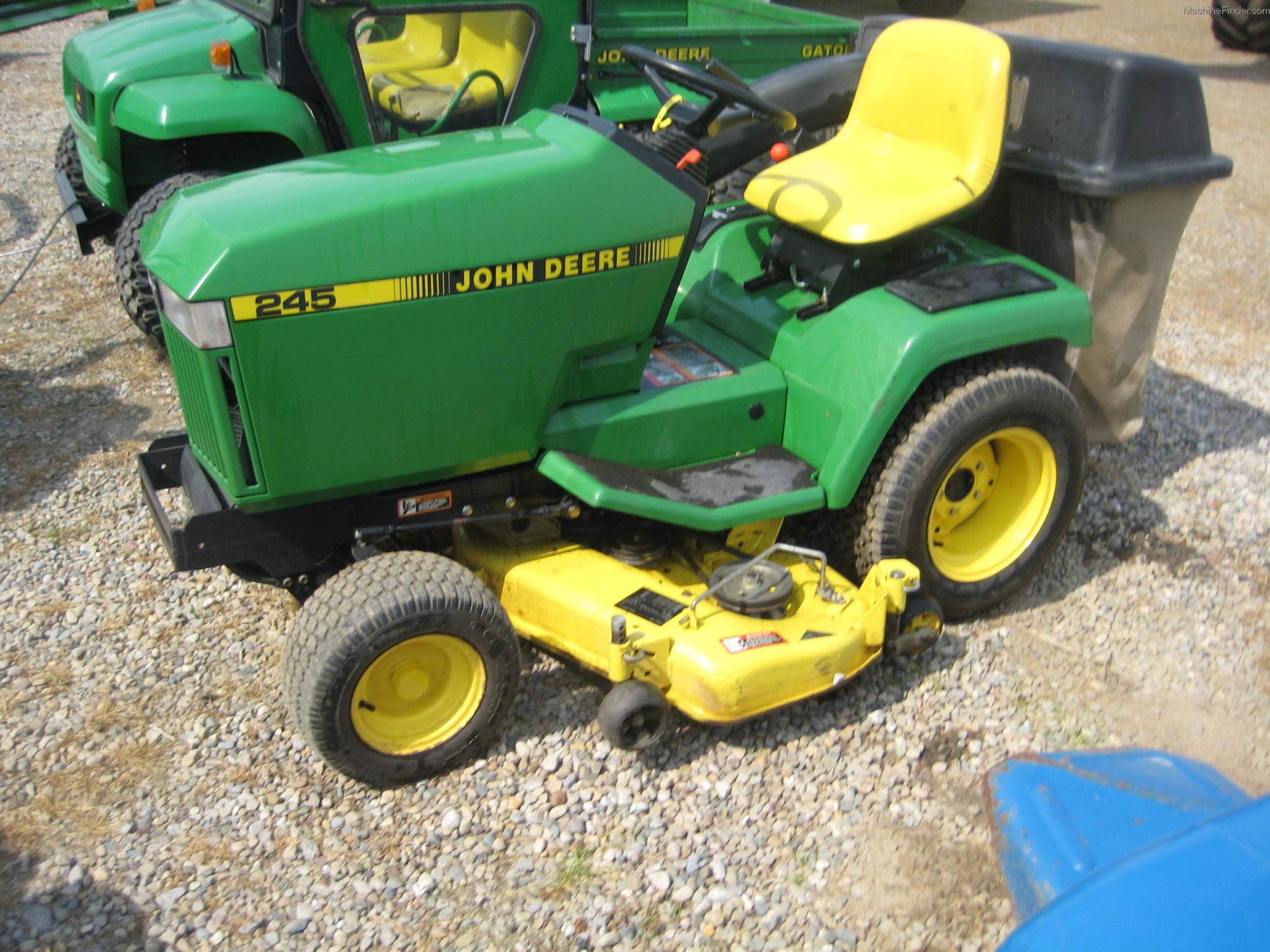 1994 John Deere 245 Lawn & Garden and Commercial Mowing ...