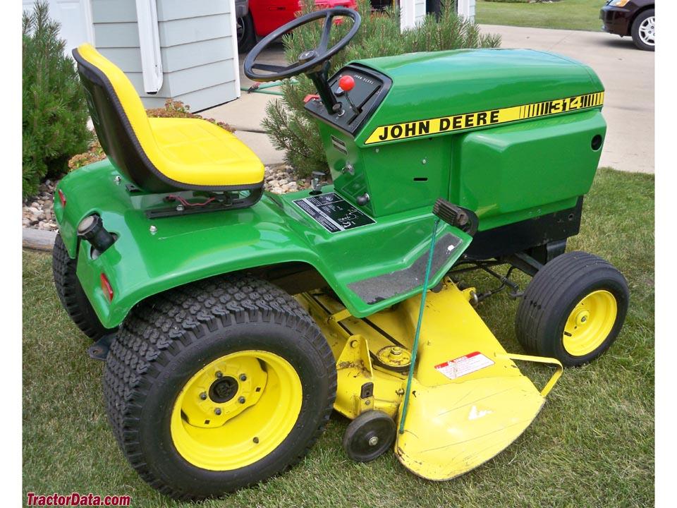 TractorData.com John Deere 314 tractor photos information