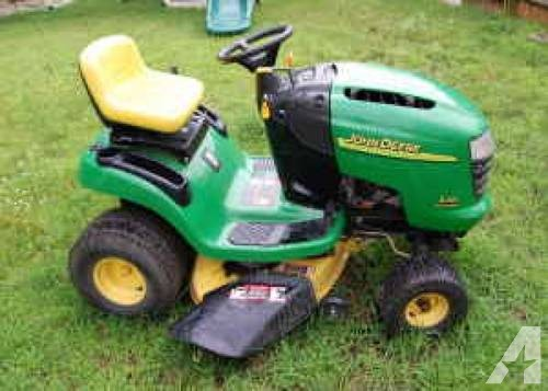 John Deere L-110 Lawn Tractor Mower !!! Ready to MOW ...
