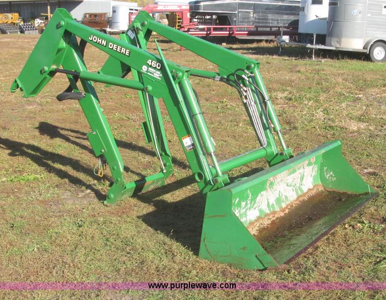 John Deere 460 loader attachment | no-reserve auction on ...