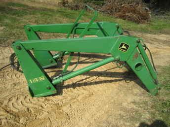 Used Farm Tractors for Sale: Quick Attach John Deere 148 ...
