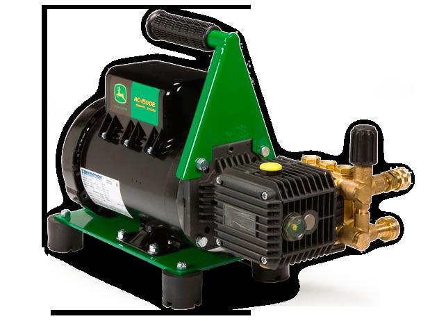 John Deere AC-1500E Heavy Duty Cold Water Pressure Washer ...