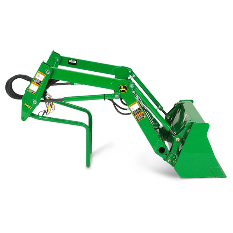 John Deere H120 Front Loader | Mutton Tractor Attachments