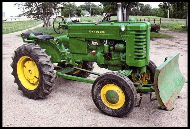 1947 John Deere M W/ Blade Another Mecum Sold Sold Price ...