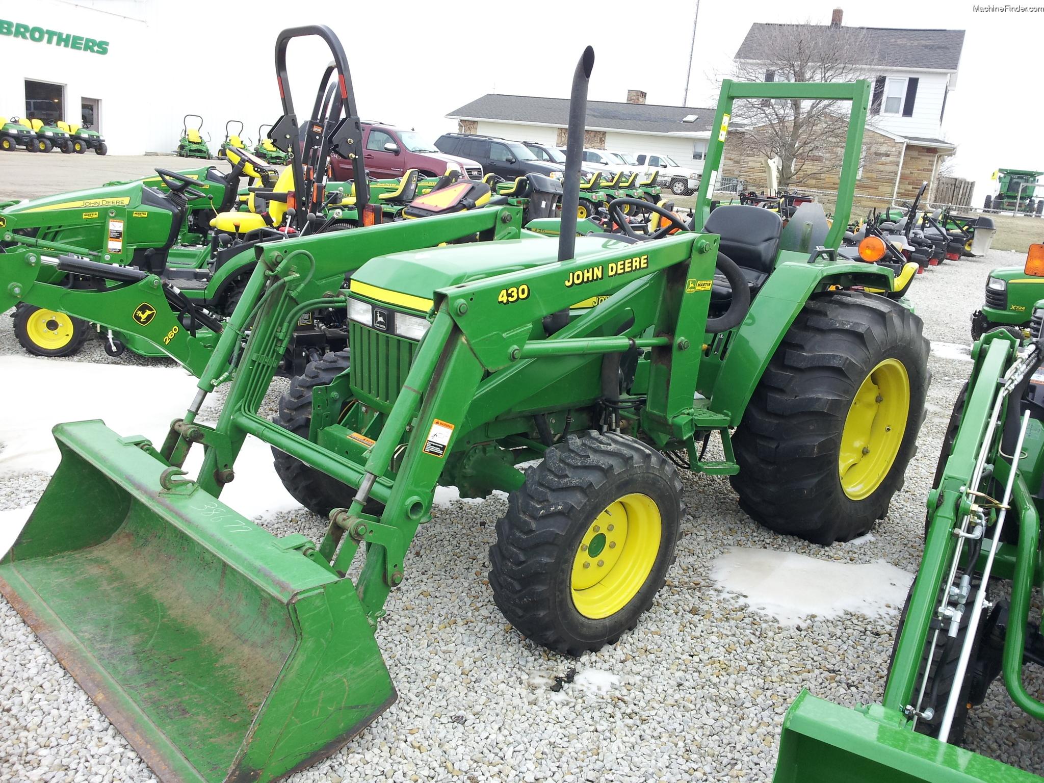 2000 John Deere 990 Tractors - Utility (40-100hp) - John ...
