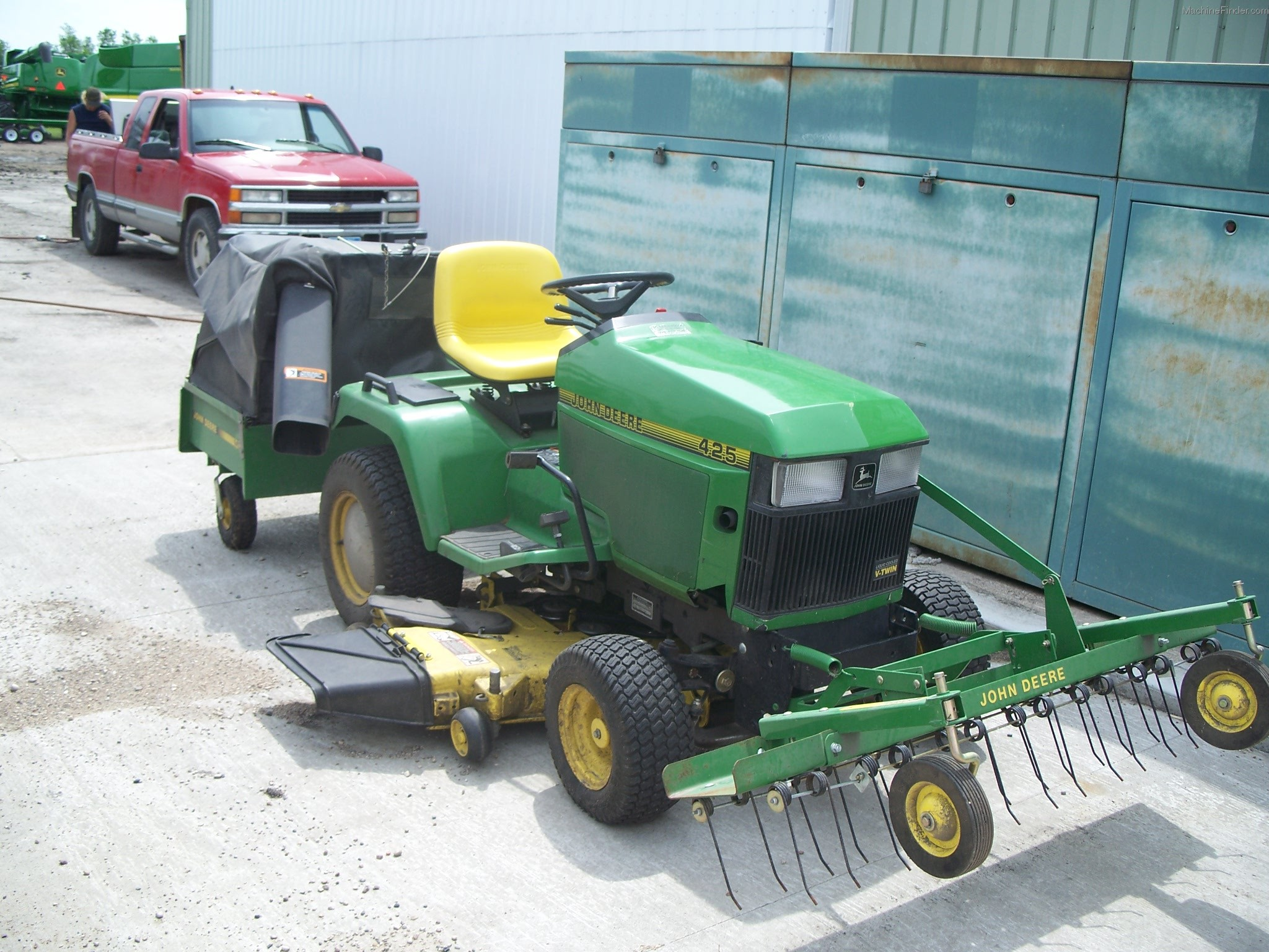 1995 John Deere 425 Lawn & Garden and Commercial Mowing ...