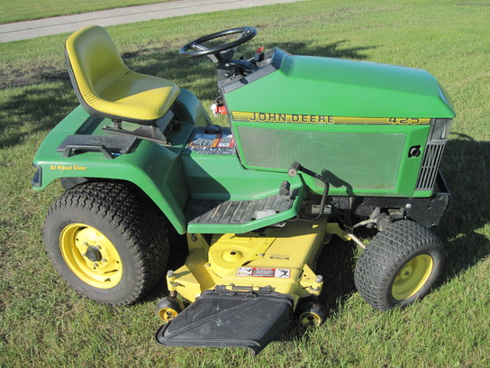 John Deere 425 aws 54 Lawn & Garden and Commercial Mowing ...
