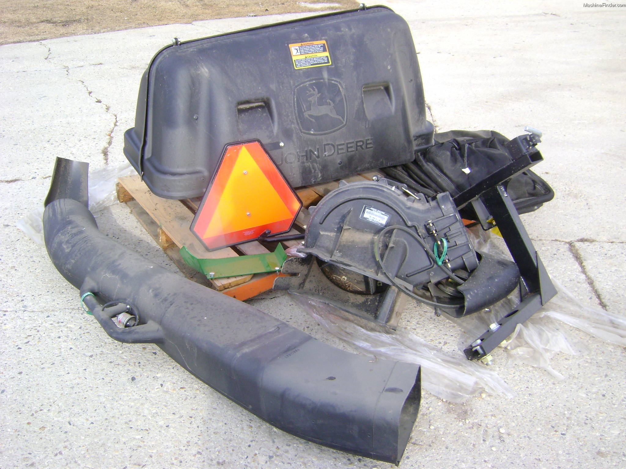 2012 John Deere 3-Bag Power Flow MCS Miscellaneous - John ...