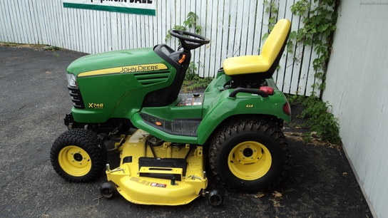 John Deere X748 Lawn & Garden and Commercial Mowing - John ...