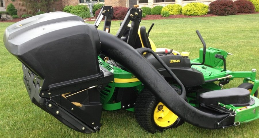 John Deere 757 Zero turn Mower with bagger -$2300 | USA ...