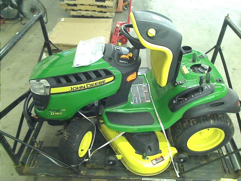 John Deere D140 48 in. 22 HP Front-Engine Riding Mower ...