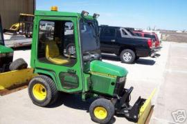 Cost to Ship - John Deere 455 Diesel Cozy Cab 54 Front Blade 60 - from Reno to Crystal Lake