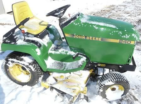 John Deere 240 Tractor Electric PTO Clutch | eBay