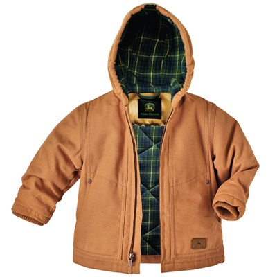 John Deere Youth Hooded Chore Jacket | For My Boys!! | Pinterest