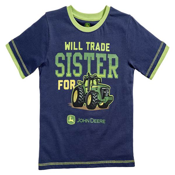 Toddler Boy's Navy Will Trade Sister T-Shirt