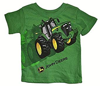 John Deere Green Tractor Toddler and Infant T-Shirt (4T): Amazon.co.uk ...