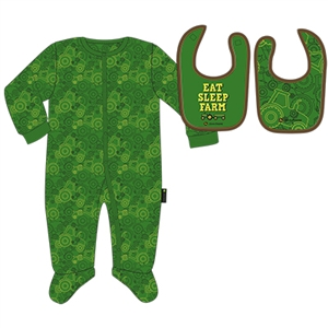 John Deere Newborn Boy's Sleep Set | WeGotGreen.com