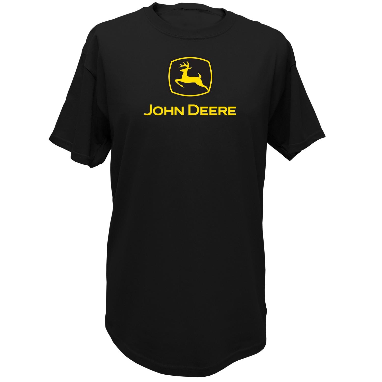 John Deere t shirt features a front screen print design in John Deere ...