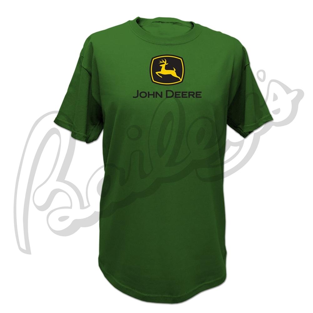 John Deere Men's Short Sleeve Logo Crew Neck T-Shirt | John Deere | T ...