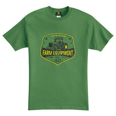 John Deere Green World Class Farm Equipment T Shirt | eBay