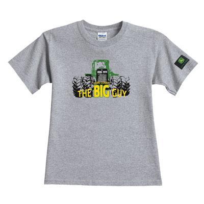 Youth John Deere gray t-shirts | WeGotGreen.com