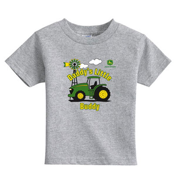 deere shirts tops john deere toddler daddy s little buddy t shirt ...