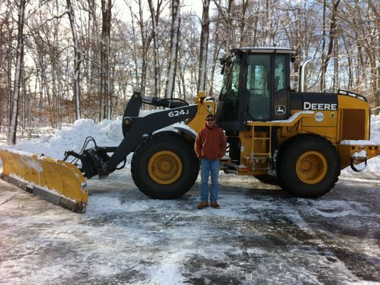 of his 2010 John Deere front-end loader stolen from a construction ...